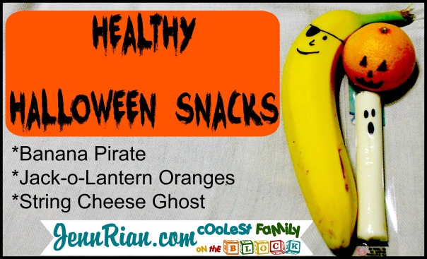 Easy Healthy Halloween Snacks